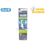image of Braun Oral B Crossaction Brush Heads 2pcs (Original) For Rechargeable Toothbrush