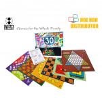 SPM Compendium Of 30 Games SPM 23 (Ludo, Snakes, Ladders, Solitaire, Dam)