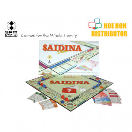 image of Saidina Deluxe Premier Property Trading Edition Board Game SPM 22