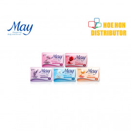 image of May Bar Soap / Sabun Mandi May 85g 3 + 1 / 4pc