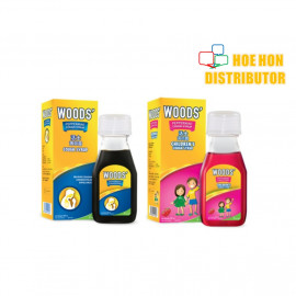 image of Woods Adult / Children Cough Syrup 50ml Sirap Batuk Dewasa / Kanak Kanak