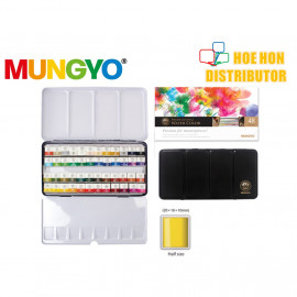 image of Mungyo Professional Water Color 48 Pan Set MWPH-48C