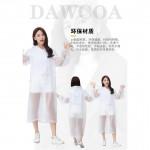 Durable Unisex Outdoor Raincoat 1pc C1030