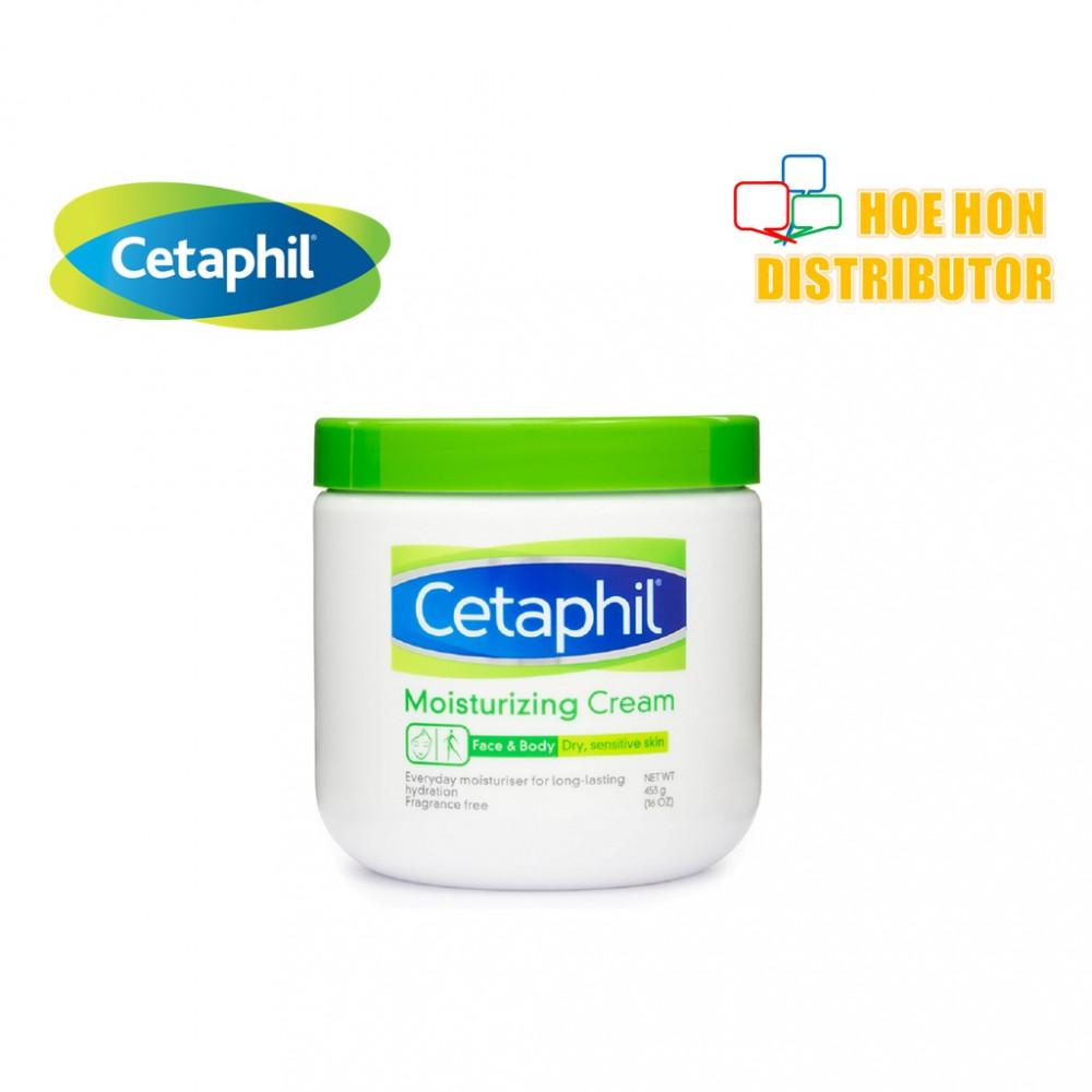 Cetaphil Moisturizing Cream Dry, Sensitive, Face & Body 453g / 16oz P52261-1