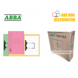image of ABBA U PIN + Spring Fastener Flat File / Folder 102 UK 5pcs