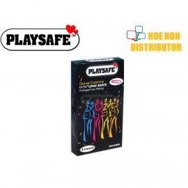 image of Playsafe Long Shock Delay Condom 12 (Durex Condom Alternative)