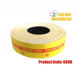 Price Label Tag / Labeller Machine RM Sticker For MX 6600
