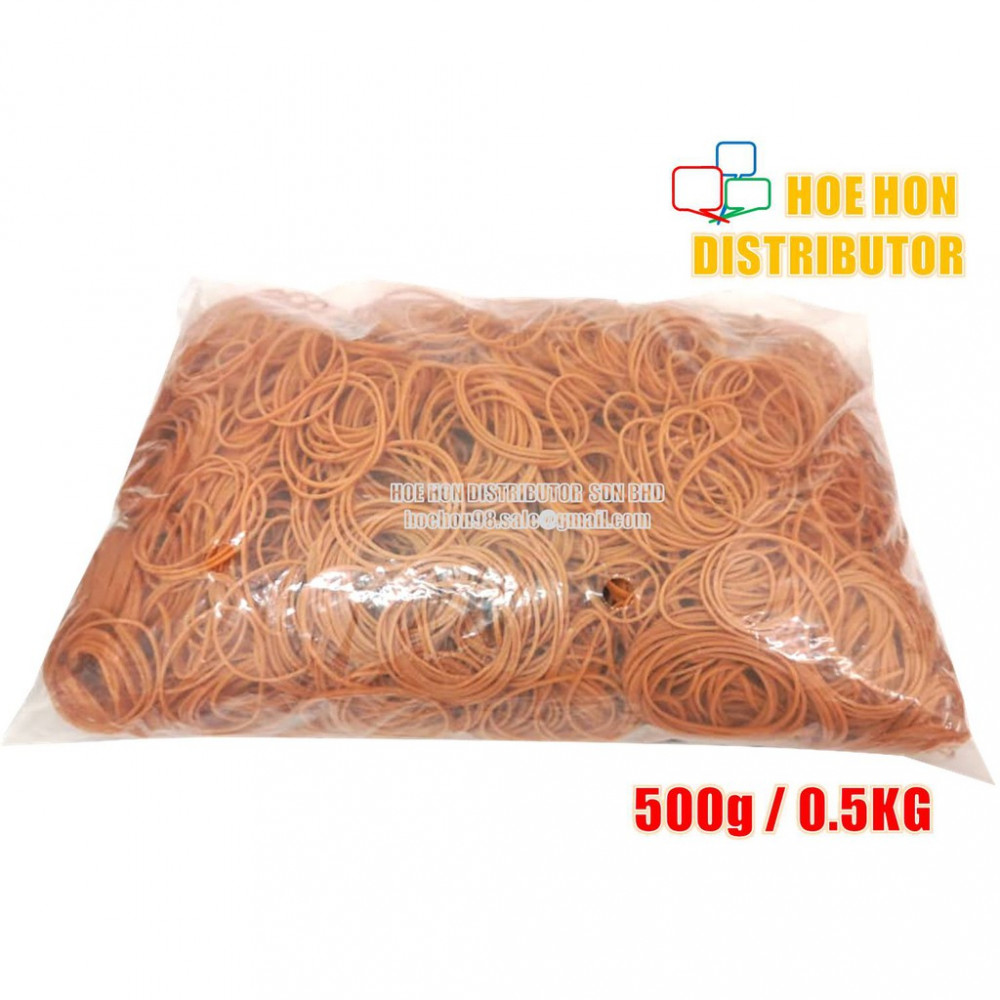 High Quality Office / School Elastic Rubber Band 500g / 0.5kg