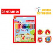 image of Stabilo Swans Colour / Color / Colored Pencil 24