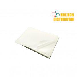 image of Transparent Plastic Film A4 Glossy Sticker
