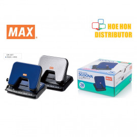 image of MAX Scoova Light Effort 2 Hole Paper Punch / Puncher 28 Sheet DP-35T DP90336