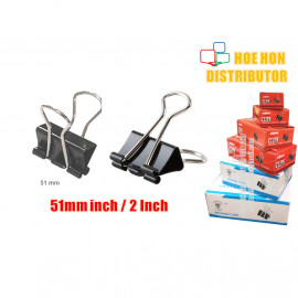 image of Multipurpose Binder Clips 51mm (2 Inch) 12pcs / Box