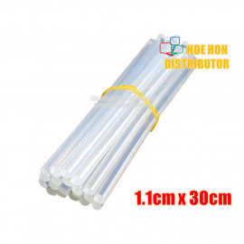 image of DIY Hot Glue Stick 110mm X 300mm / 1.2cm X 30cm 1pc Full Length For Hot Glue Gun
