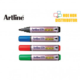 image of Artline Permanent Marker 2.0mm EK - 170 (Dry Safe Ink)