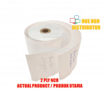 Cash Register Receipt Printer Paper Roll 57mm X 65mm Or 60mm X 12mm 2ply NCR