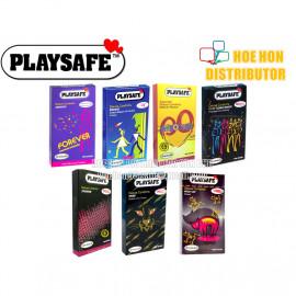 image of Playsafe Wild Cat Tiger Long Shock Delay Condom 12 (Durex Condom Alternative)