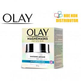 image of [NEW] Olay White Radiance Magnemasks Infusion Whitening Jar Refill 50g