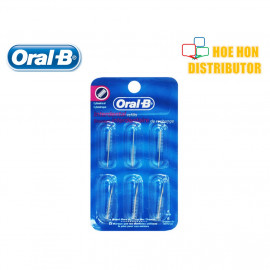 image of Oral-B / Oral B Interdenal Cylindrical Refill Bridge Brace Wide Space Toothbrush