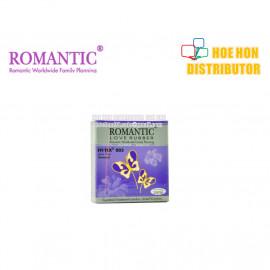 image of Romantic Super Thin 003 Aromatic Condom 3pc (Durex Condom Alternative)