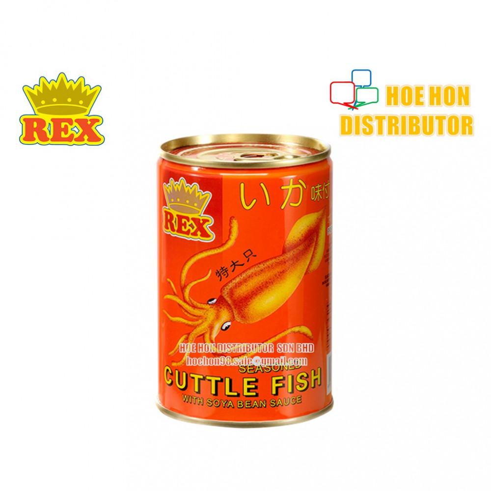 Rex Cuttle Fish With Soya Bean Sauce / Sotong Dalam Kicap Soya 425g HALAL