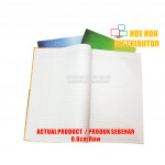 Hard Cover Foolscap Exercise Note Book / Buku Log Kulit Tebal F4