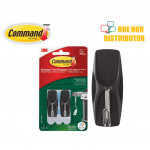 3M Command Outdoor Exterior Stainless Steel Wire Hook / Hanger 2pc 17065S-AWES