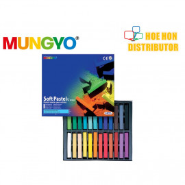 image of Mungyo Soft Pastel For Artists 24 Color (Full Size) MP-24