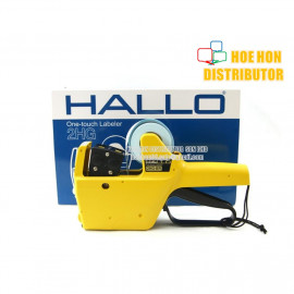 image of Japan HALLO Price Labeler / Label 2 Line 10 + 10 Digit 2HG