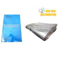 image of Transparent Plastic PVC Book Cover Wrap Sheet/ Pembalut Buku Persediaan Mengajar