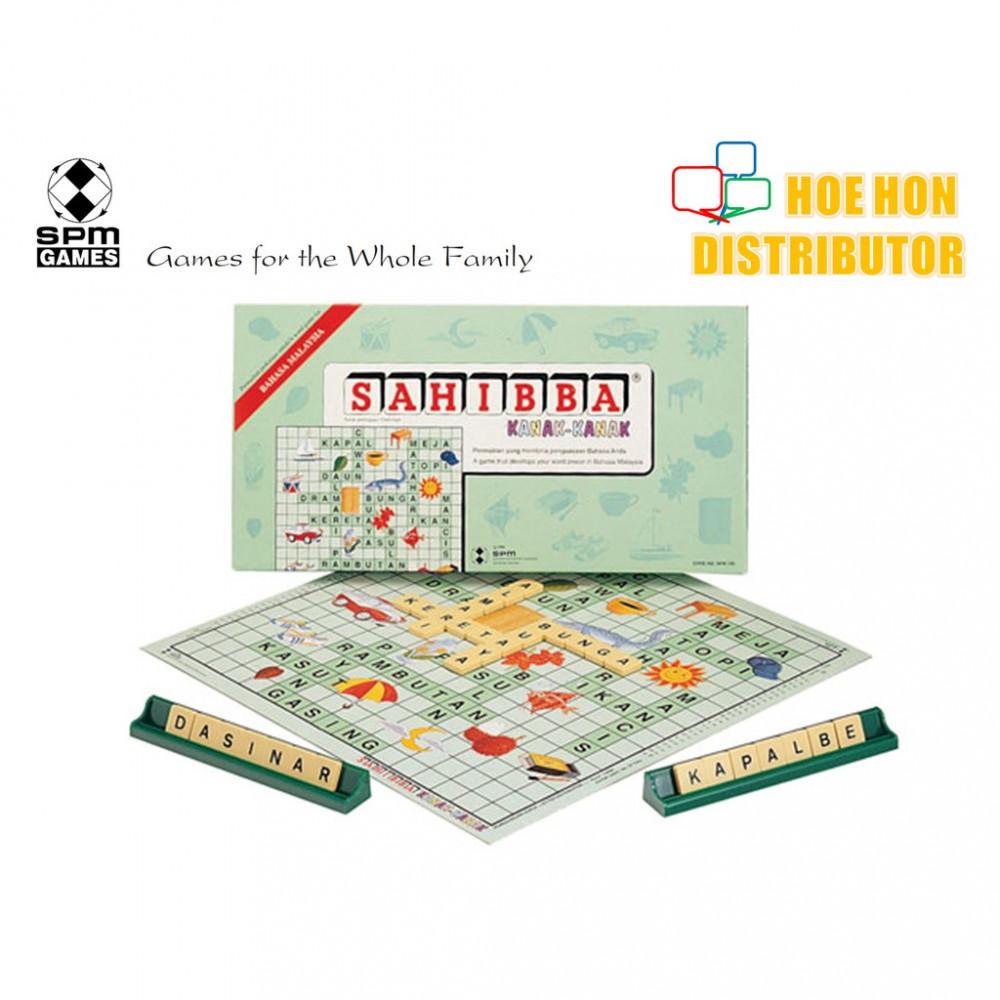 Sahibba Kanak-Kanak / Children Crossword Board Game SPM 100
