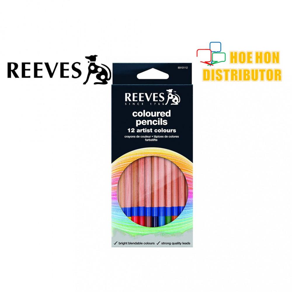 Reeves Coloured Pencils 12 Artist Color / Colour Pencil (Pencil Warna) 8910112