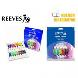 image of Reeves Water Colour 18 Artist Colours / Color Set