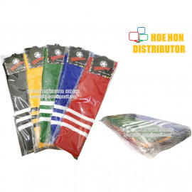 image of Extra Long High Knee Football / Soccer Socks / Kaus Kaki Bola Sepak 55cm #12PAIR