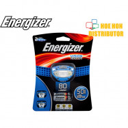 image of Energizer Vision Headlight 80 Lumens 3 Pivoting LEDs Shatter Proof HDA32