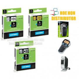 image of Dymo Labelmanager D1 Cassette / Cartridge Refill 6mm X 7m LMR 160 420P PNP