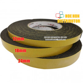 image of Uniace Double Sided Eva Foam Tape 18mm X 8 Meter 3/4 Inch X 9 Yard Big Roll