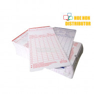 image of 2 Sided Punch Card 85mm X 180mm 100 Sheet PC100-W