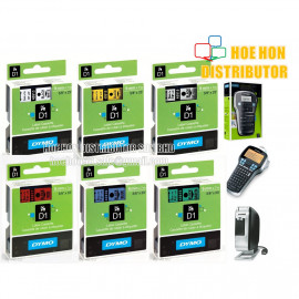 image of Dymo Labelmanager D1 Cassette / Cartridge Refill 9mm X 7m LMR 160 420P PNP