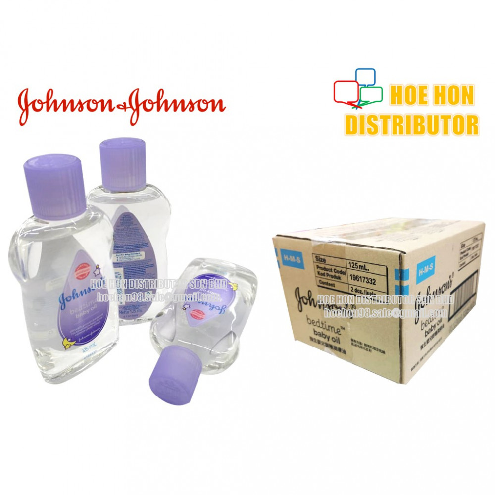Johnson's Baby Bedtime Oil / Minyak Bayi Johnson 125ml Purple