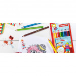 Stabilo Swans Jumbo Colour / Color Pencil Warna Stabilo 24