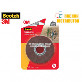 image of 3M Scotch Outdoor Permanent Mounting Tape 21mm X 4m