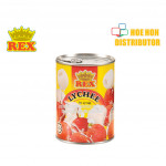 Rex Lychee In Syrup / Laici Dalam Sirap 565g HALAL