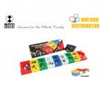 SPM Congkak Foldable Multi Colour 16 Holes SPM 109