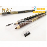 image of Issteru Eye Brow Liner / Celak Mata / Make Up Brown Black Pencil