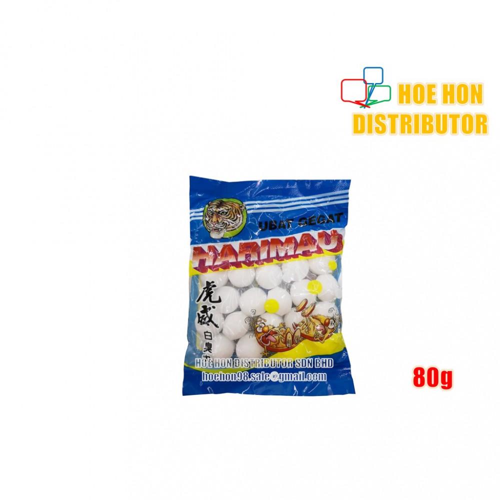 Deodorant Block Moth Naphthalene Ball Insect bug Repellent / Ubat Gegat 80g