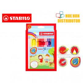 image of Stabilo Swans Colour / Color / Colored Pencil 36
