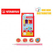 image of Stabilo Swans Jumbo Colour / Color Pencil Warna Stabilo 24
