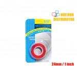 DIY / Car / Furniture Double Side Acrylic Clear / Transparent Tape 24mm x 1m