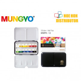image of Mungyo Professional Water Color 12 Pan Set MWPH-12C