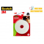 3M Scotch Indoor Permanent Mounting Tape 24mm x 5m (Long)